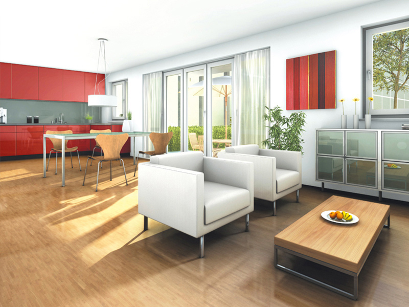 Property NEWWEST FREIHAM - Illustration living room 2