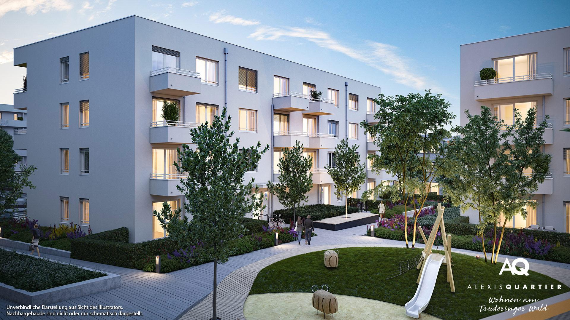 Immobilie Alexisquartier - Wohnen am Truderinger Wald - Illustration 7