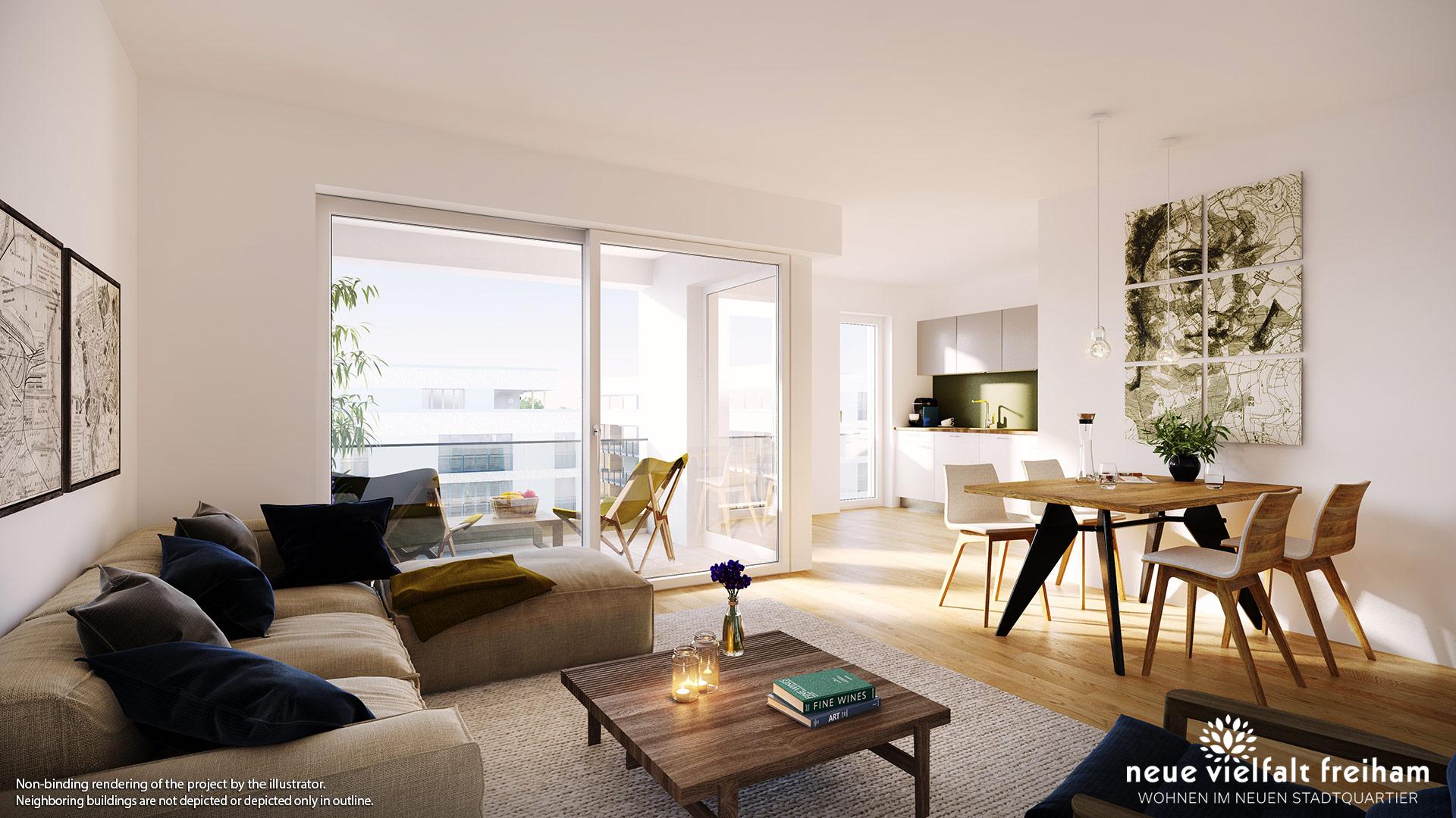 Property Neue Vielfalt Freiham – Illustration 8