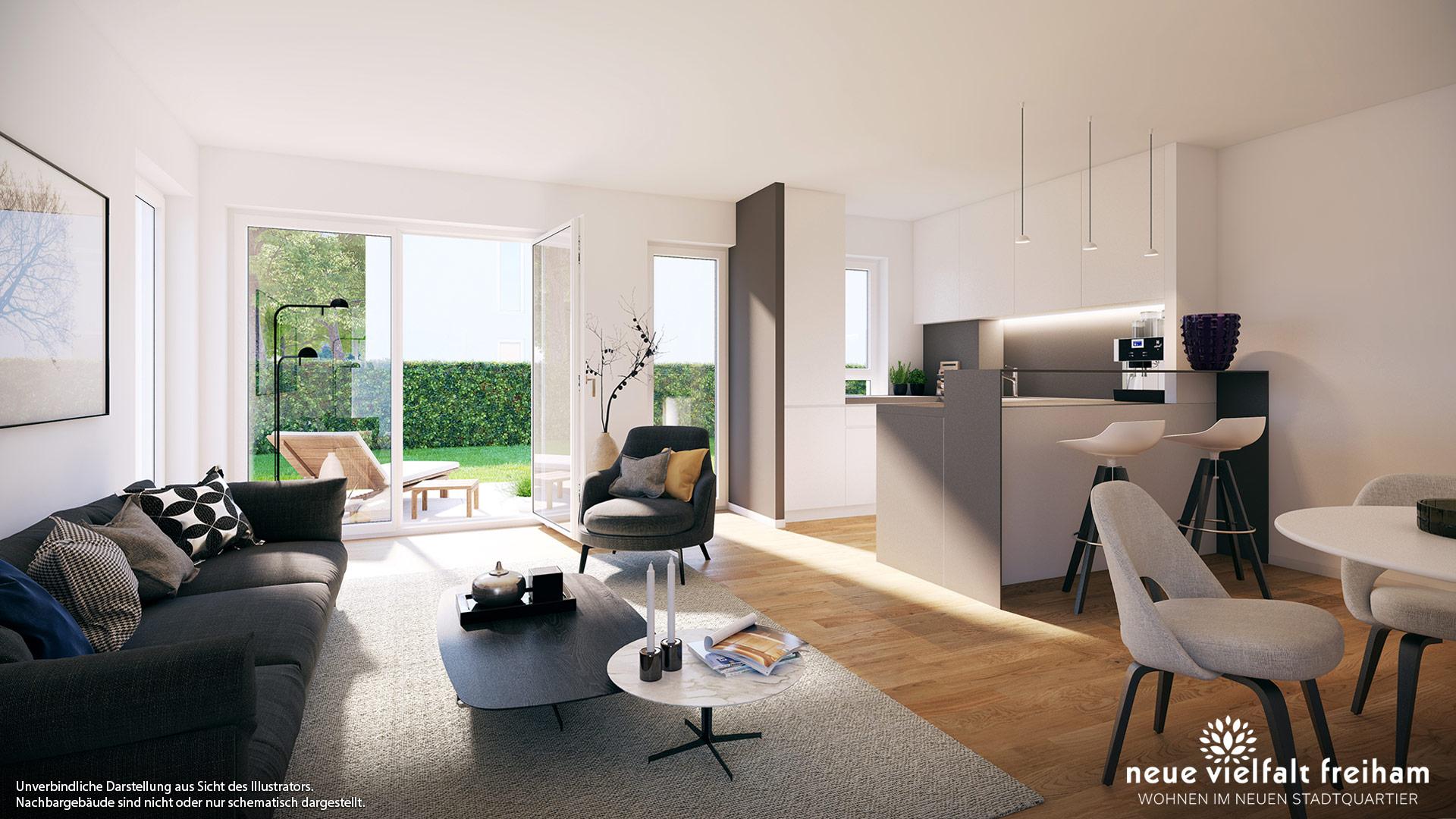 Immobilie Neue Vielfalt Freiham - Wohnbeispiel 2