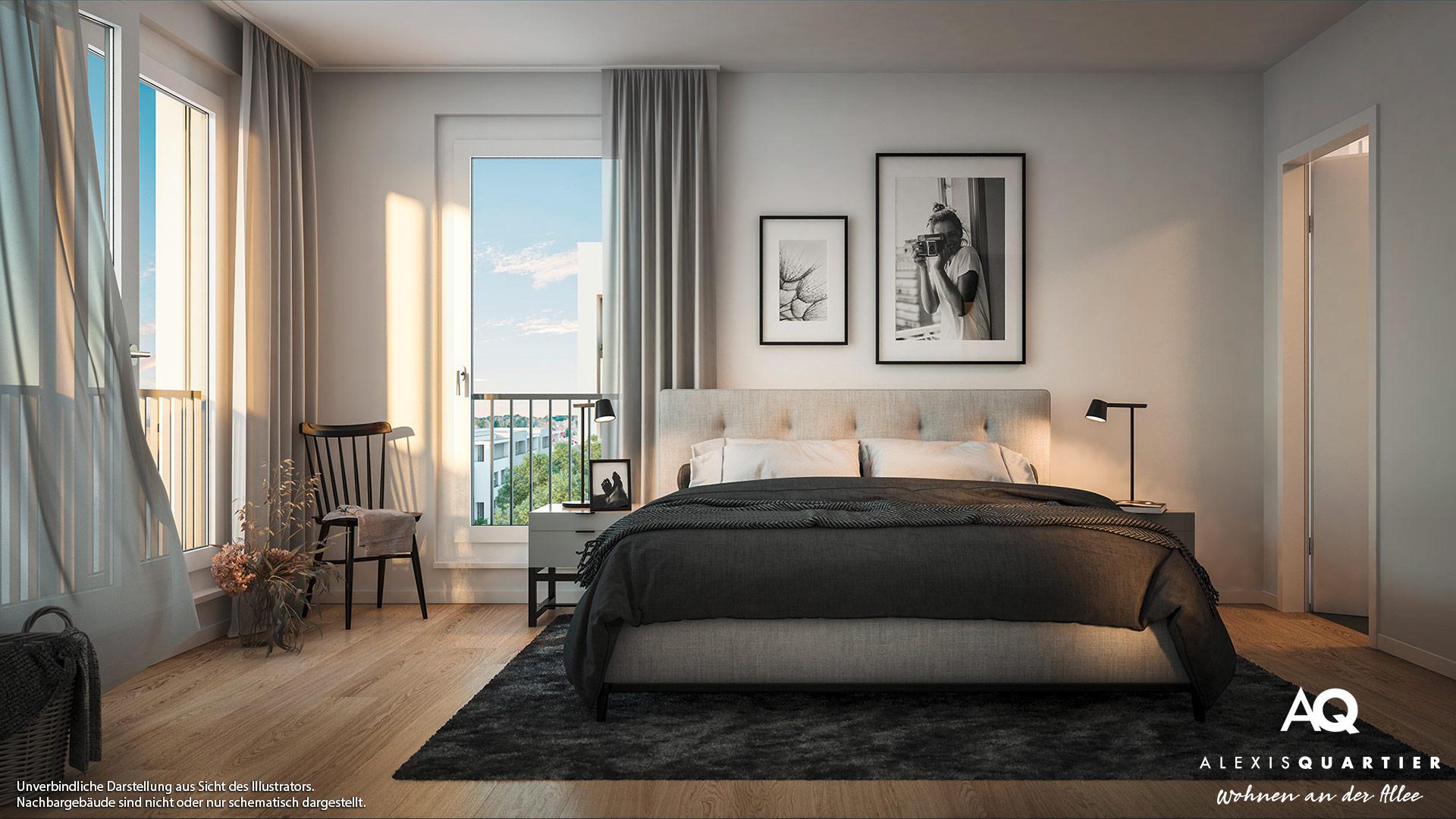 Immobilie Alexisquartier - Wohnen an der Allee - Illustration 11