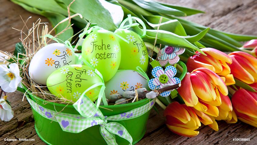 Frohes Osterfest und schöne Feiertage