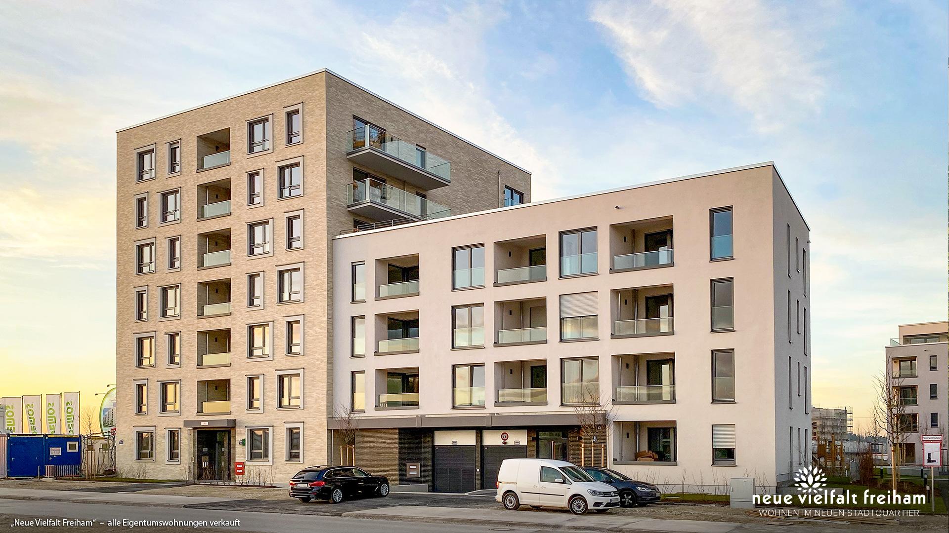 """""""Neue Vielfalt Freiham"""" in München-Freiham: Alle Eigentumswohnungen verkauft"""