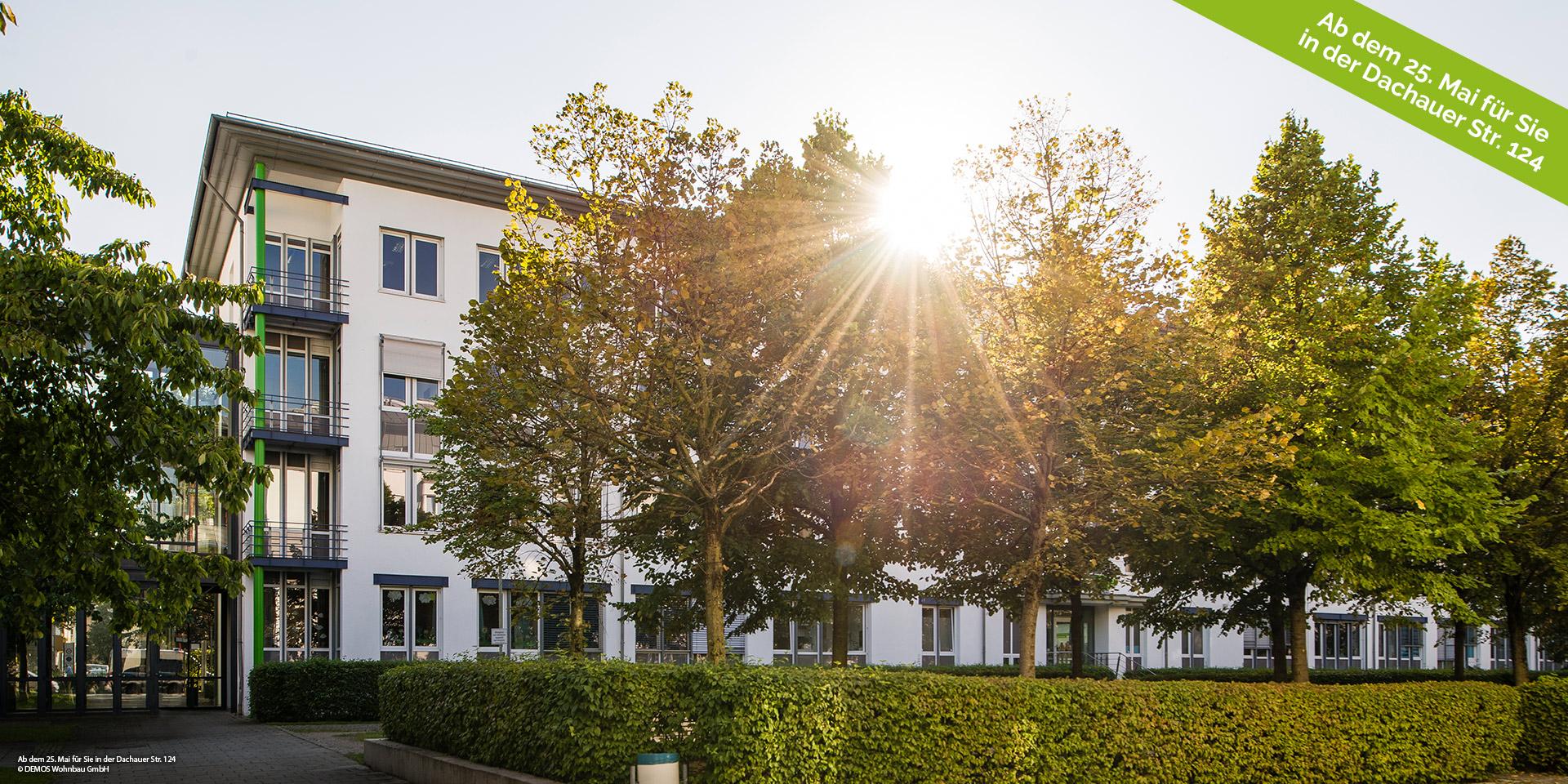 Wir bitten um Beachtung: Modernisierung Bürogebäude der DEMOS