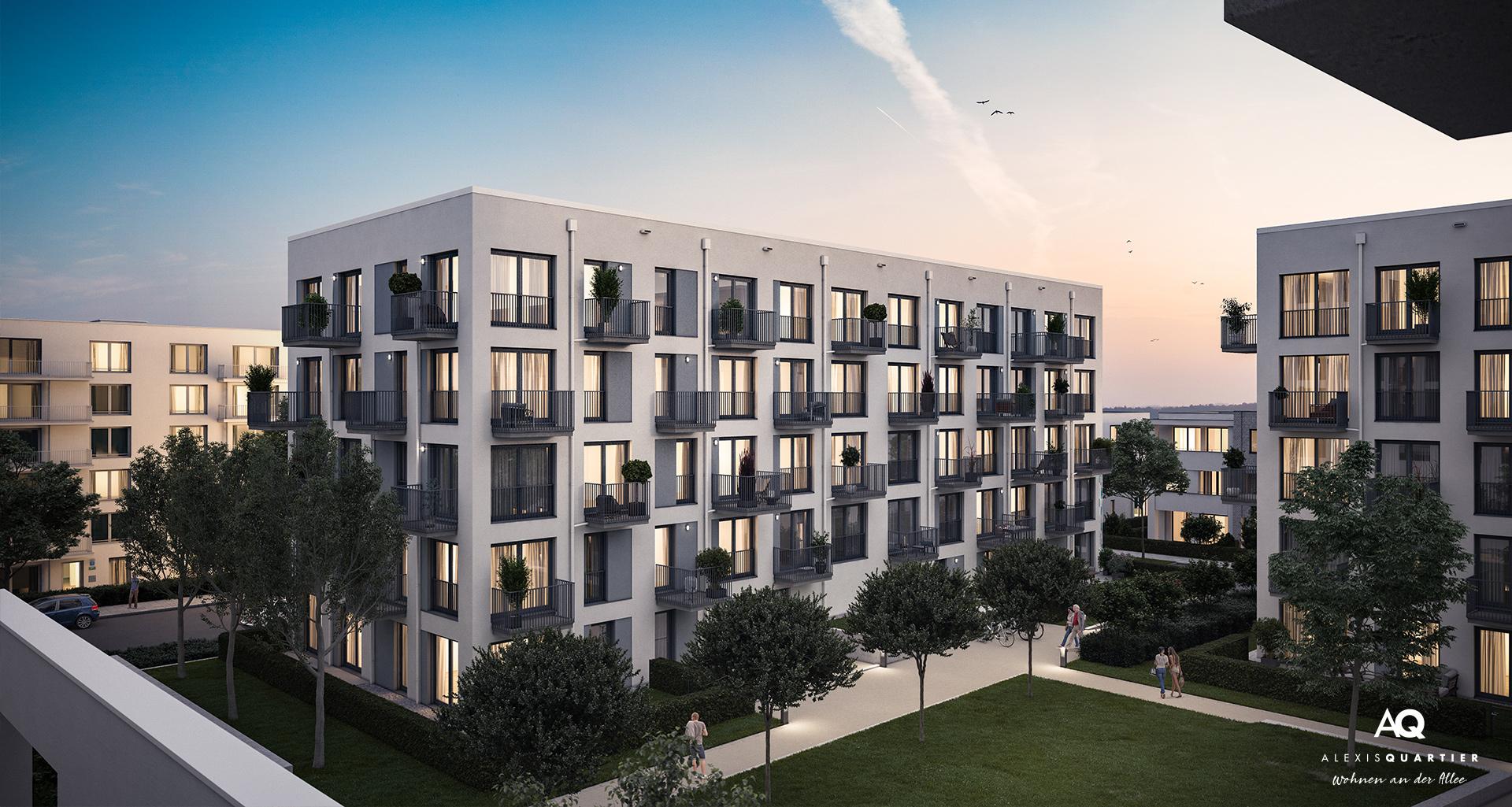 Eigentumswohnungen München: Slider Wohnen an der Allee