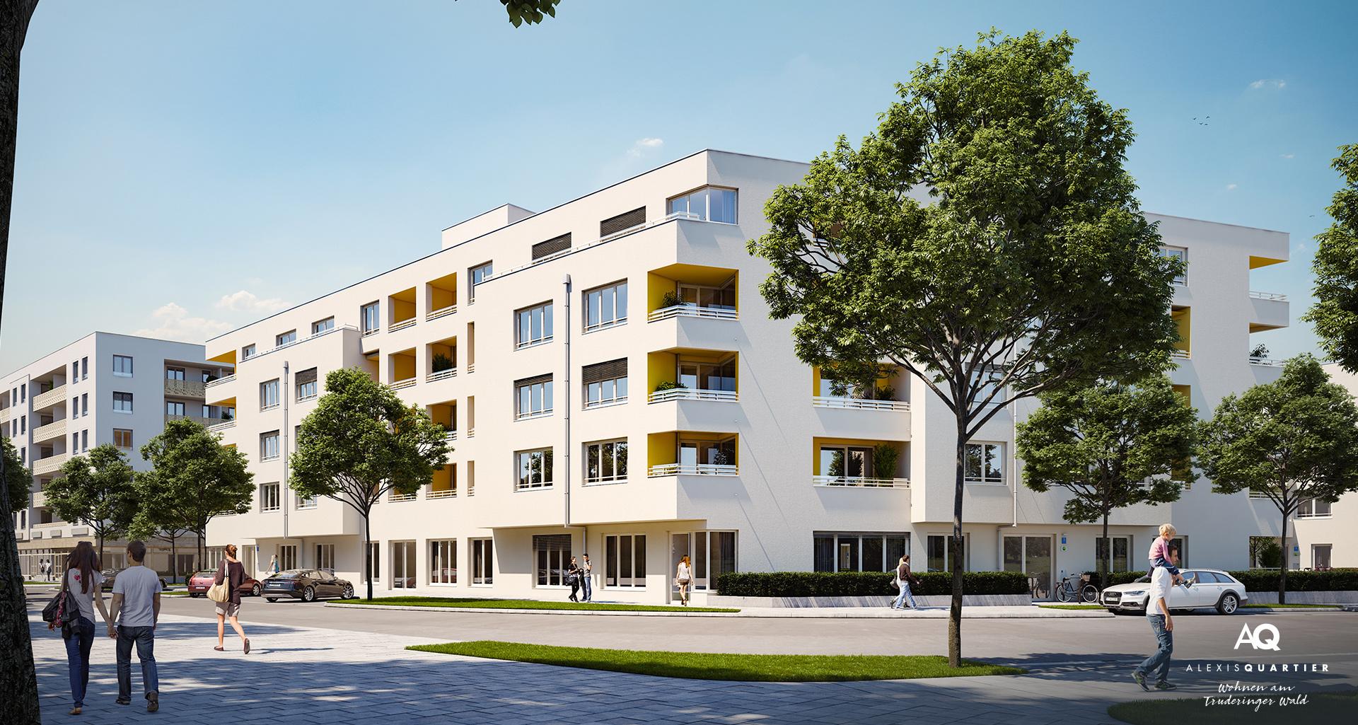 Eigentumswohnungen München: Alexisquartier Wohnen am Truderinger Wald