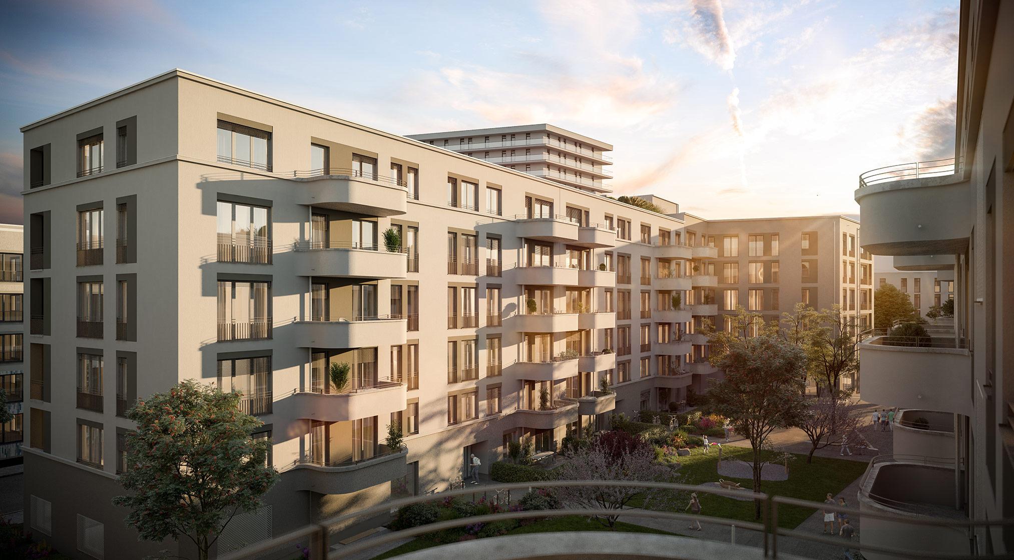 Immobilie Alexisquartier - Das Duett - Projektdetails - Illustration 1