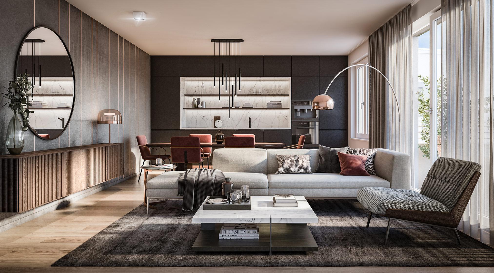 Condominiums Alexisquartier - Das Duett - Project details - illustration 3
