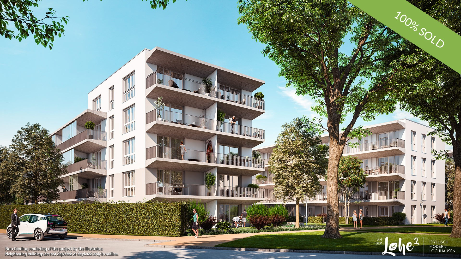 'AN DER LOHE 2' in Munich-Lochhausen: All condominiums are sold