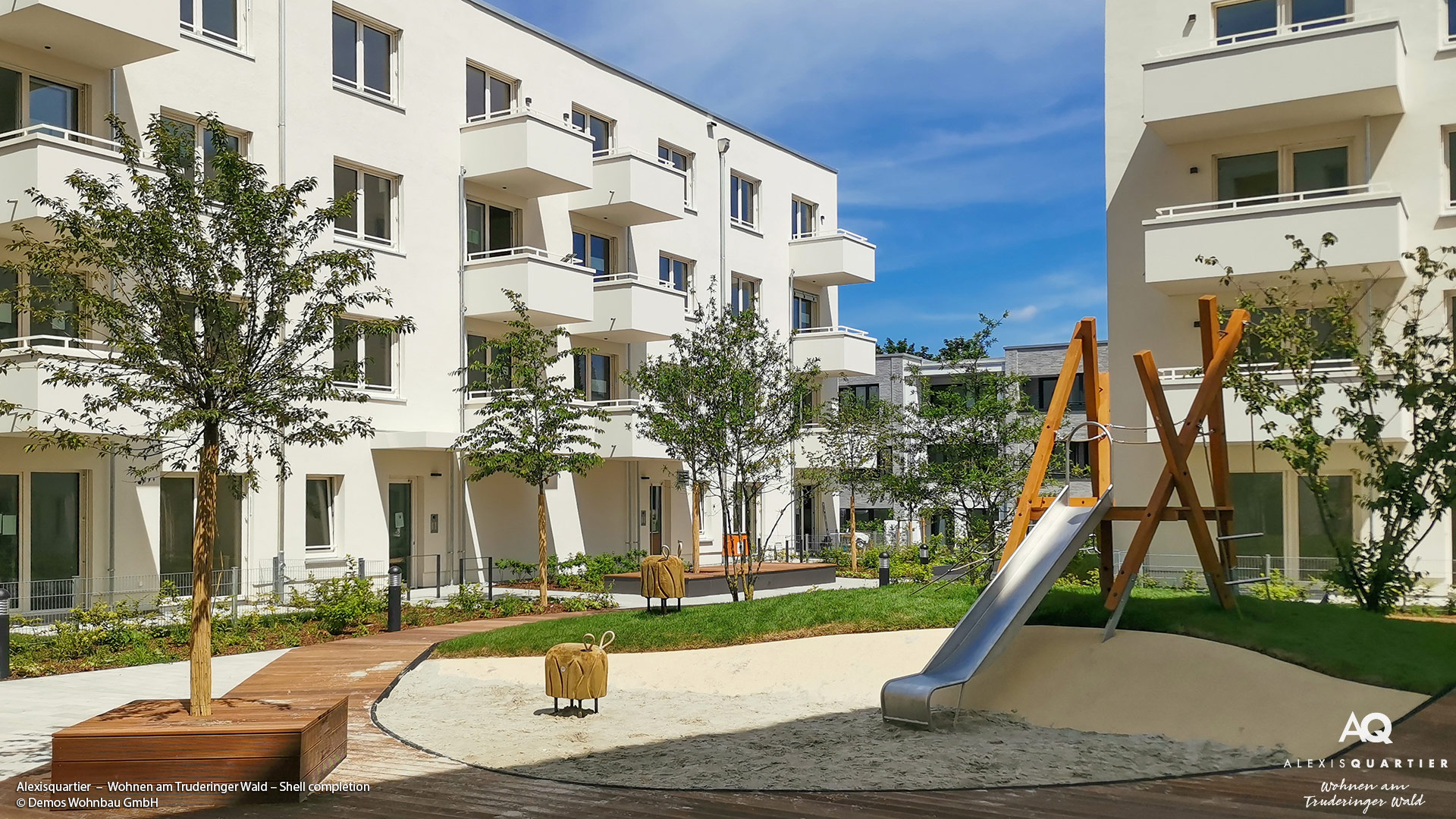 'Alexisquartier - Wohnen am Truderinger Wald' is ready for occupancy!