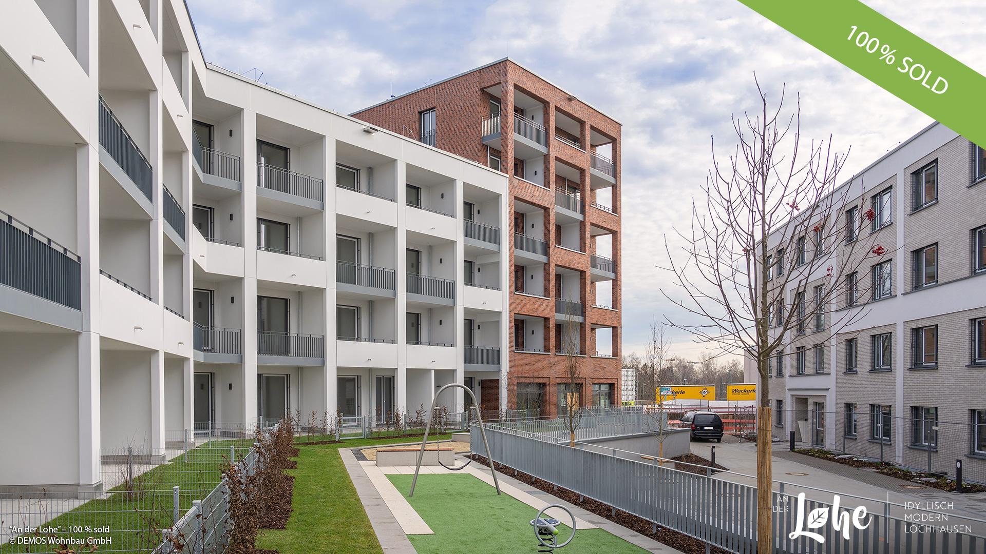'An der Lohe' in Munich-Lochhausen: All condominiums are sold
