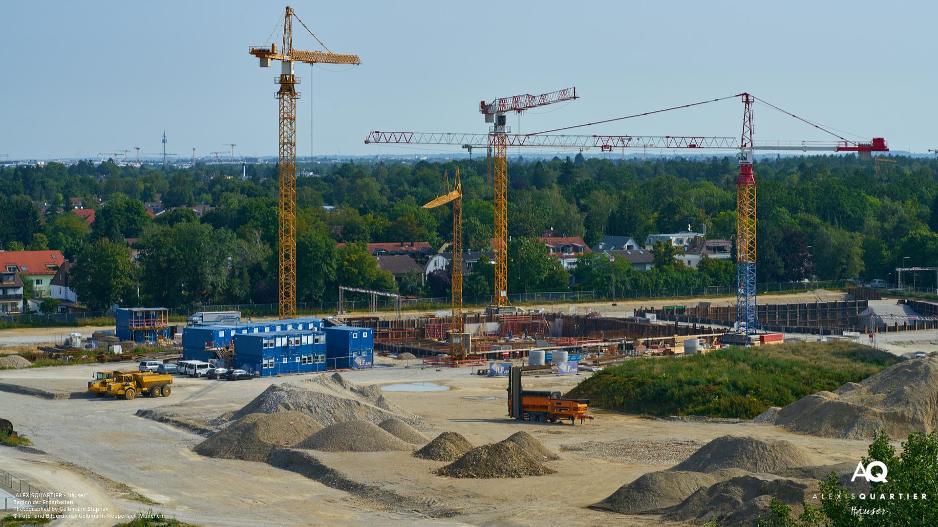 """""""ALEXISQUARTIER – Häuser"""" in München-Perlach: Start der Erdarbeiten"""