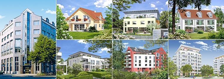 Neubau - Immobilien: Eigentumswohnungen und Häuser in und um München