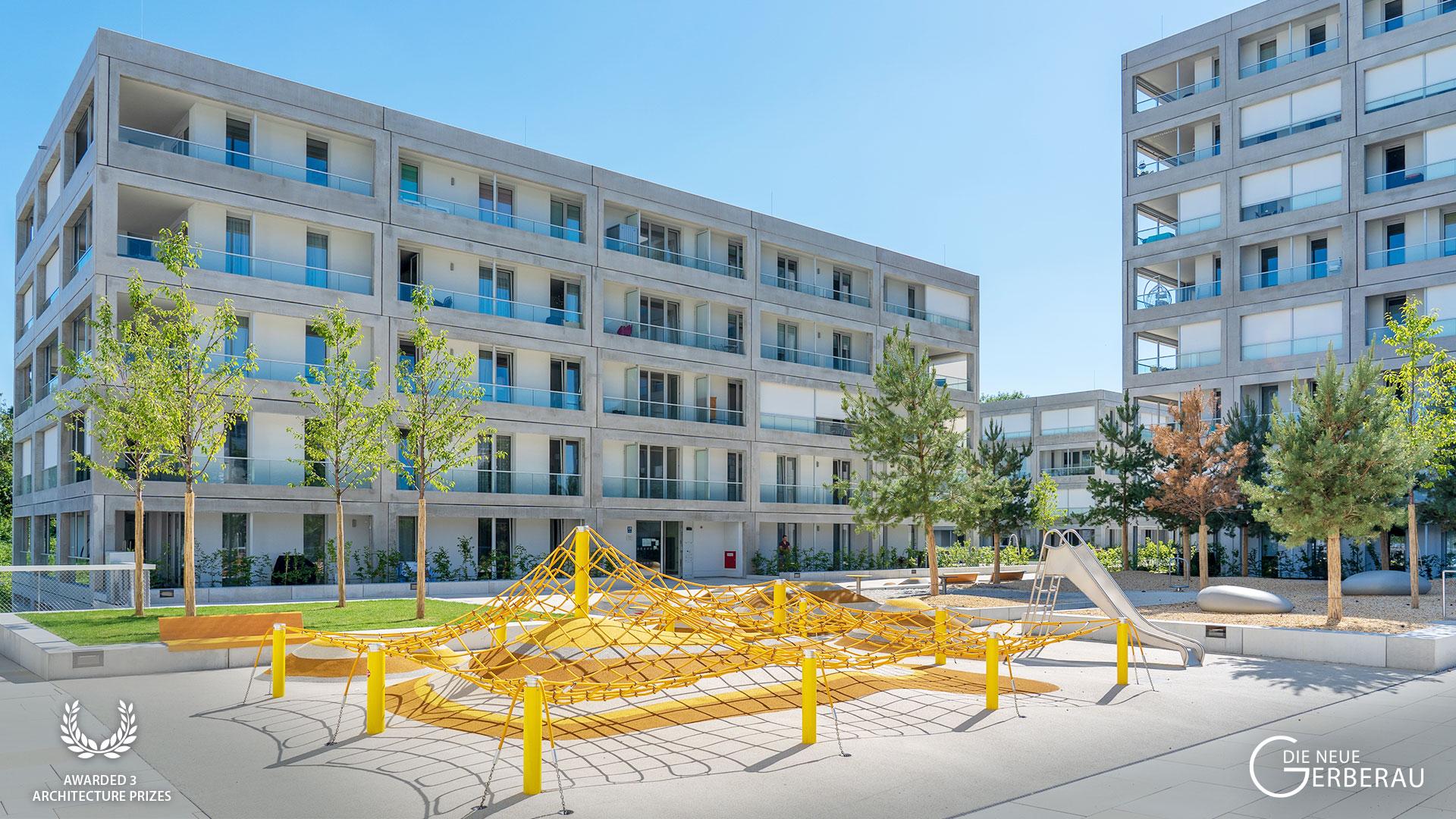 'DIE NEUE GERBERAU' wins third architecture prize