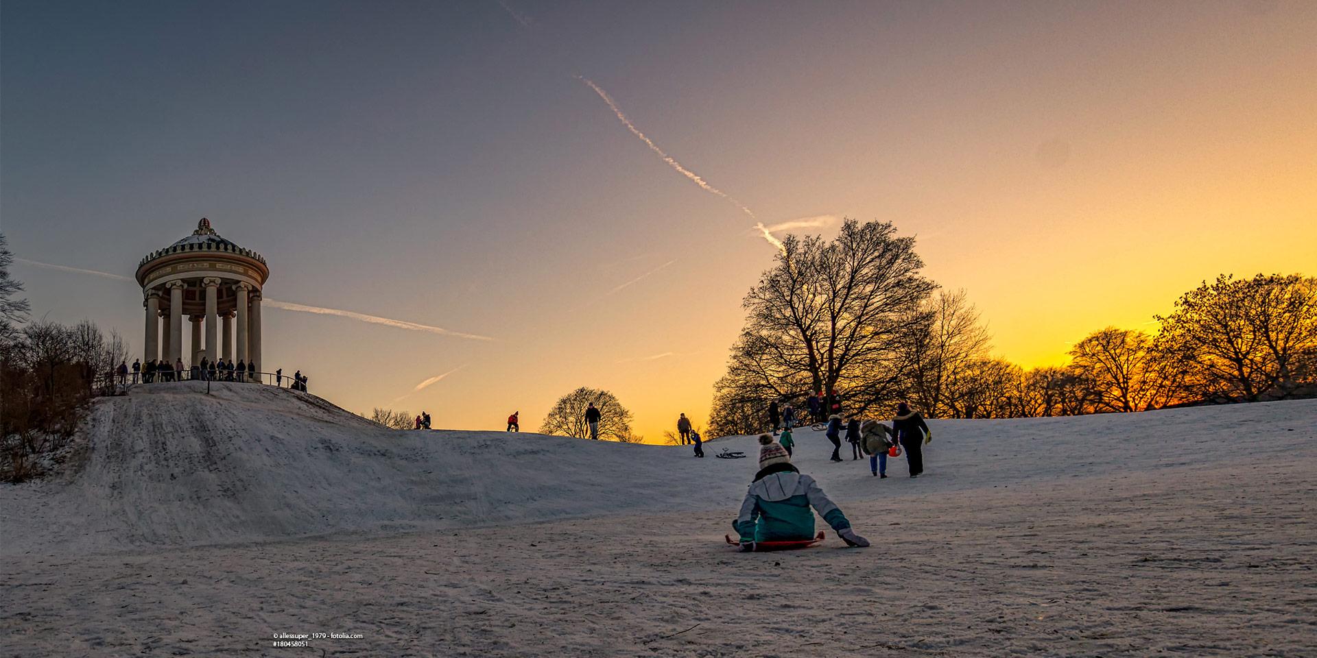 Mit Spaß durch die kalte Jahreszeit: Wintersport in München
