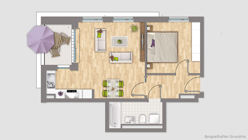 What's important when selecting the floor plan of an apartment?