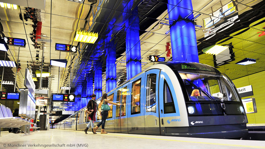 A major plus in Munich: the public transit