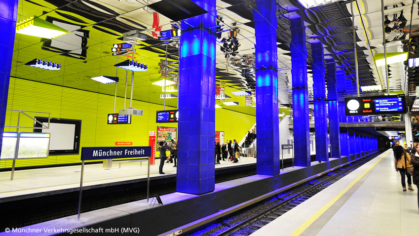 Optical enlightenment: the lighting design in Munich's subway stations