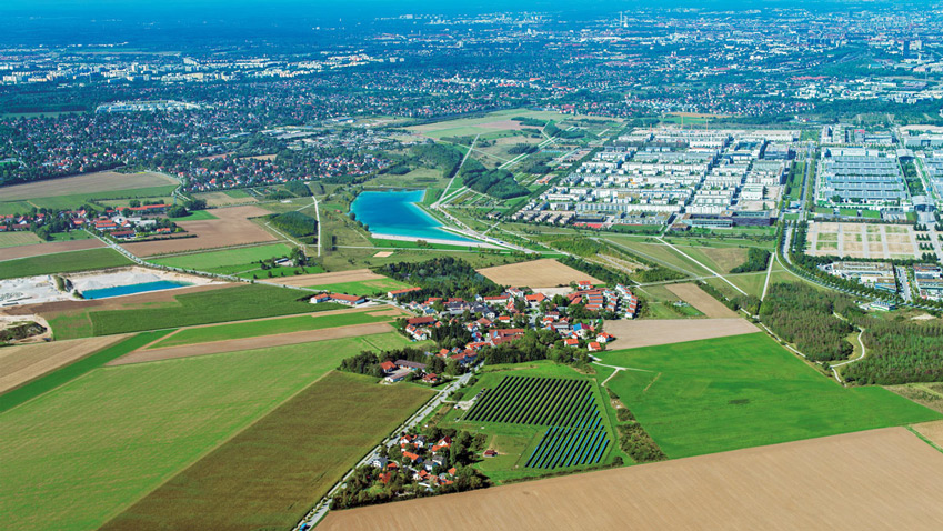 Munich and its environs as a place to live