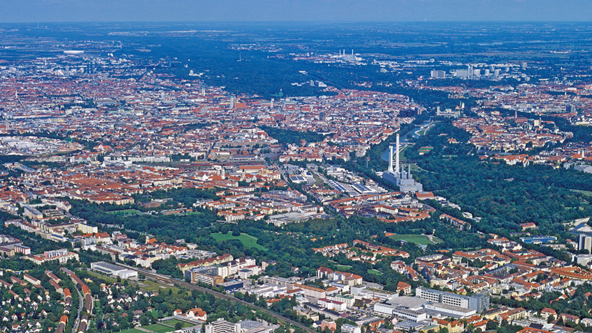 Munich, a place for real estate