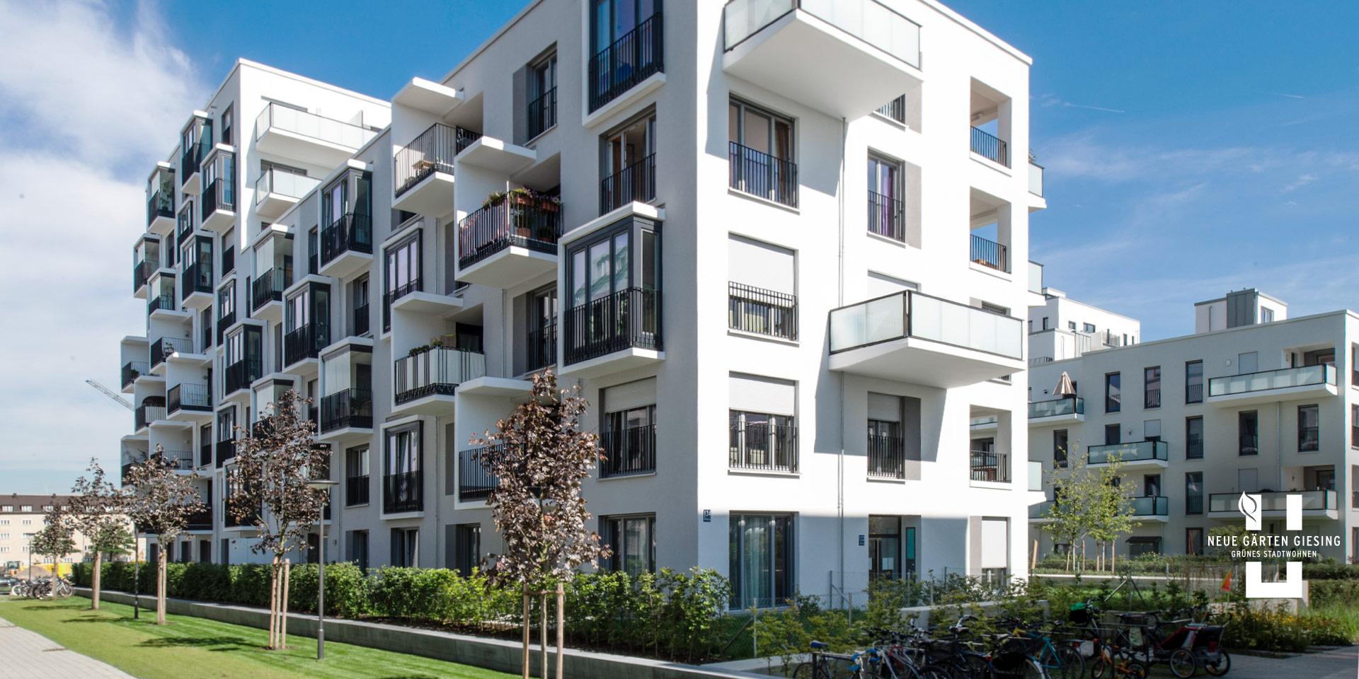 Eigentumswohnungen München: Neue Gärten Giesing