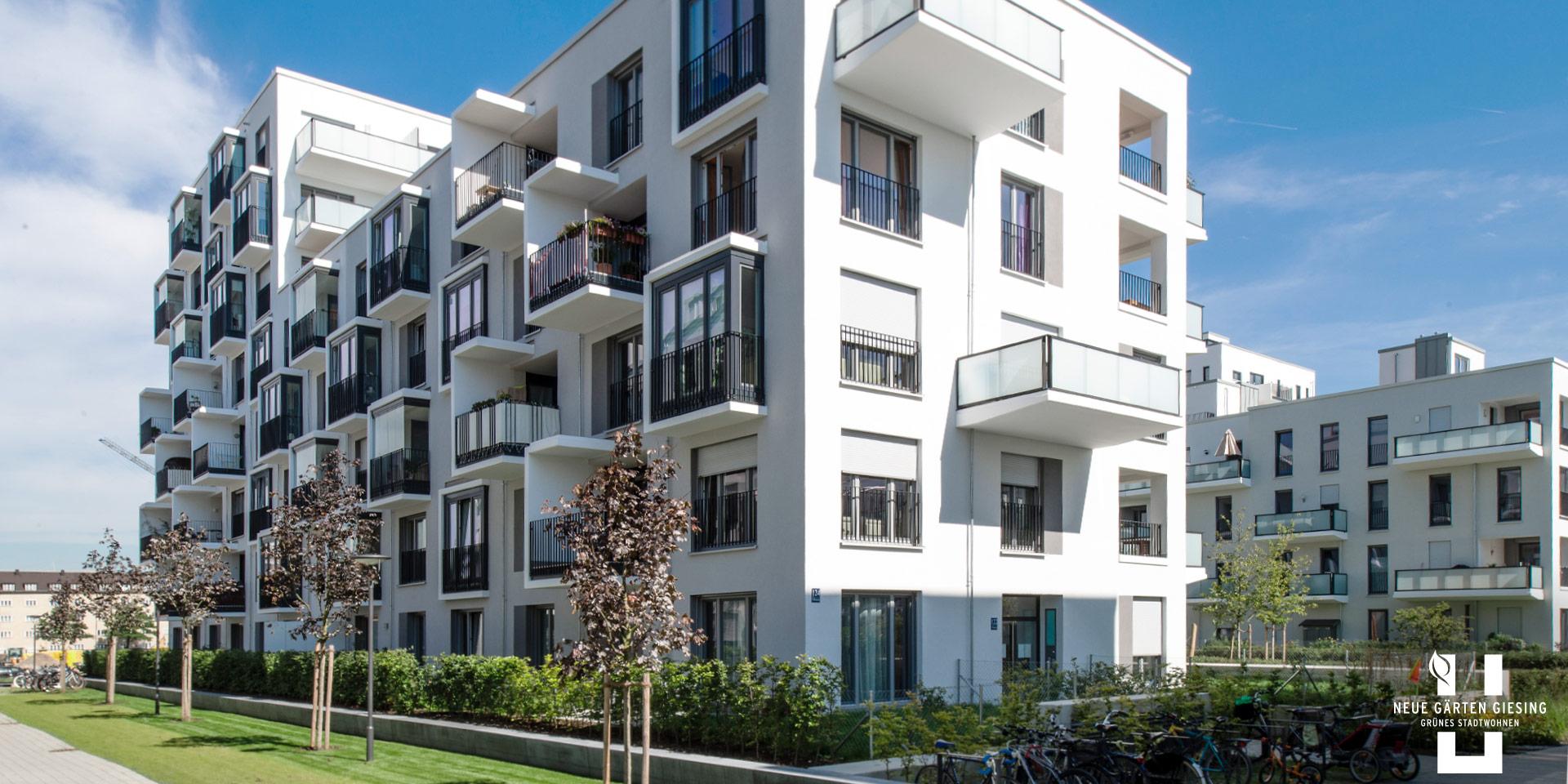 Condominiums munich: Neue Gärten Giesing