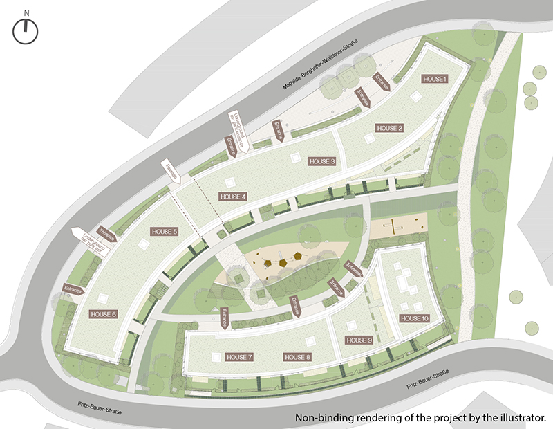Property WAVE - Site plan