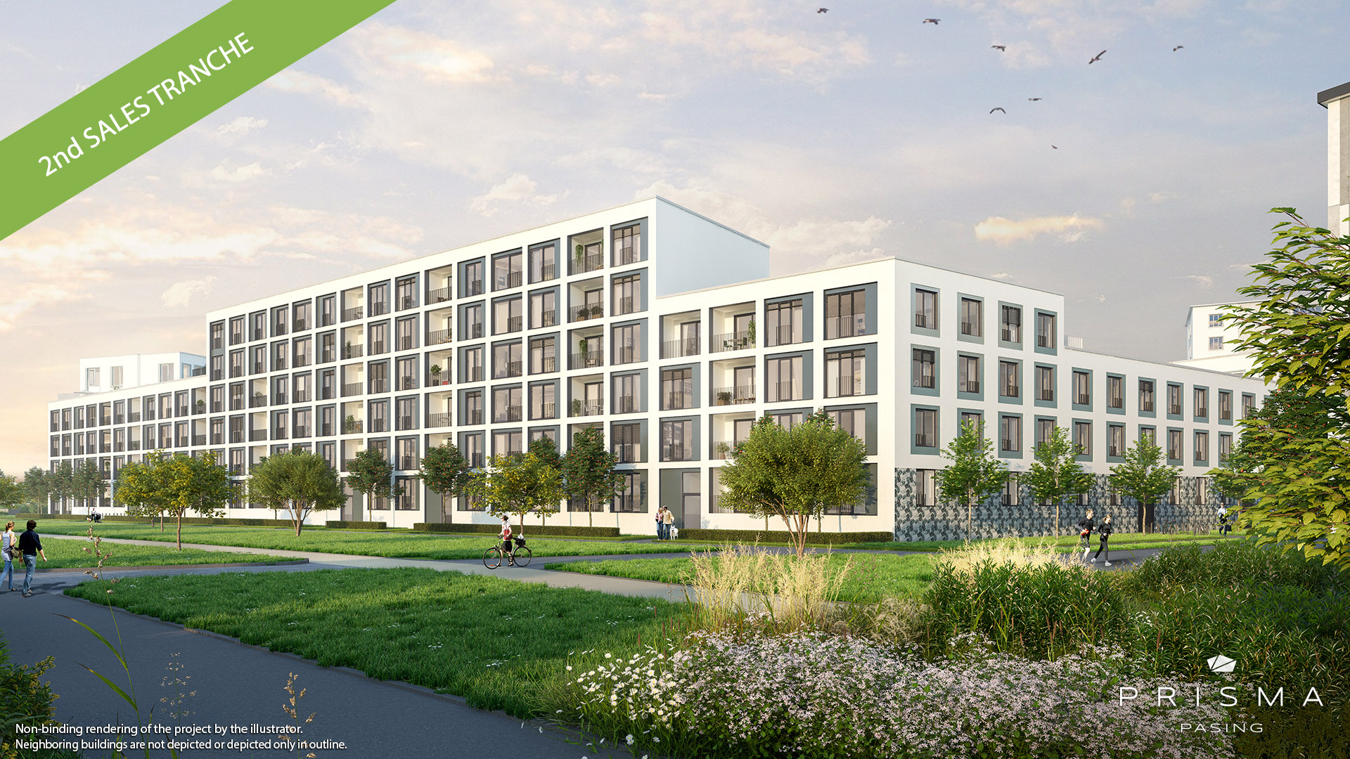 """PRISMA PASING"" in Munich Pasing: Launch of the second selling phase"