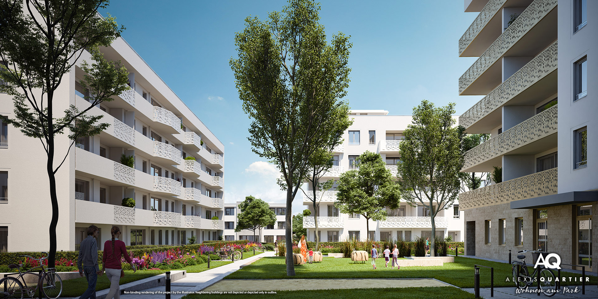 ALEXISQUARTIER in Munich-Perlach: Sales officially start today!