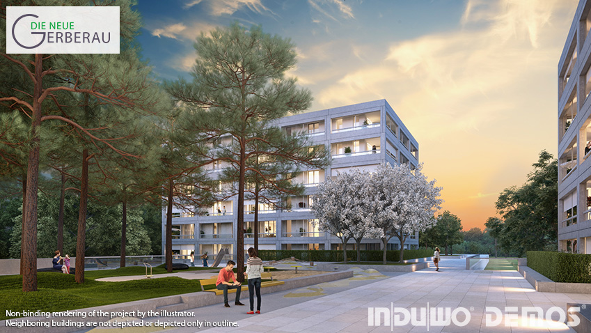 "Sales start for ""DIE NEUE GERBERAU"" – residential property in Munich-Allach"