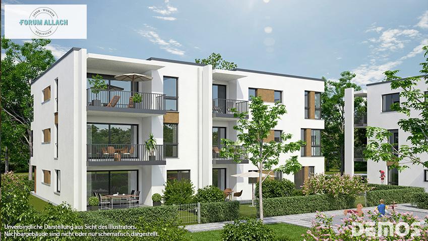 Verkaufsstart FORUM ALLACH: Wohnen in Allach-Untermenzing