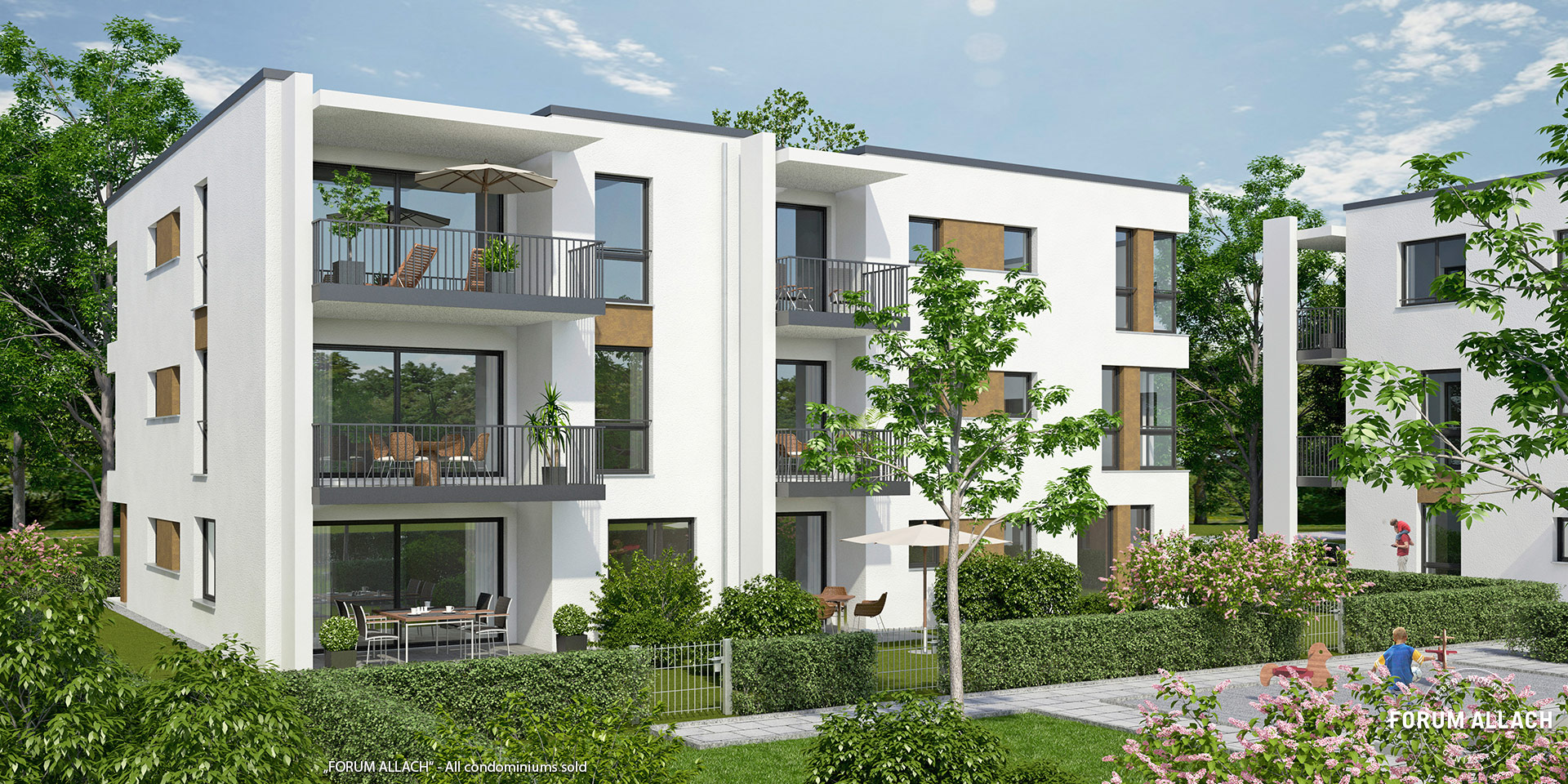 """FORUM ALLACH"" in Munich-Allach: All condominiums sold"