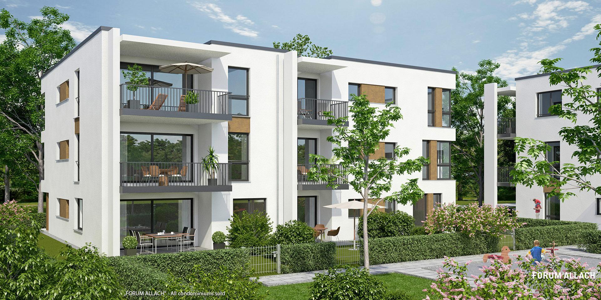 """FORUM ALLACH"" in Munich-Allach: All condominiums sold"