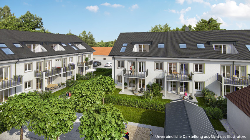 Sales start of 'Glonner 9': living near nature in Putzbrunn
