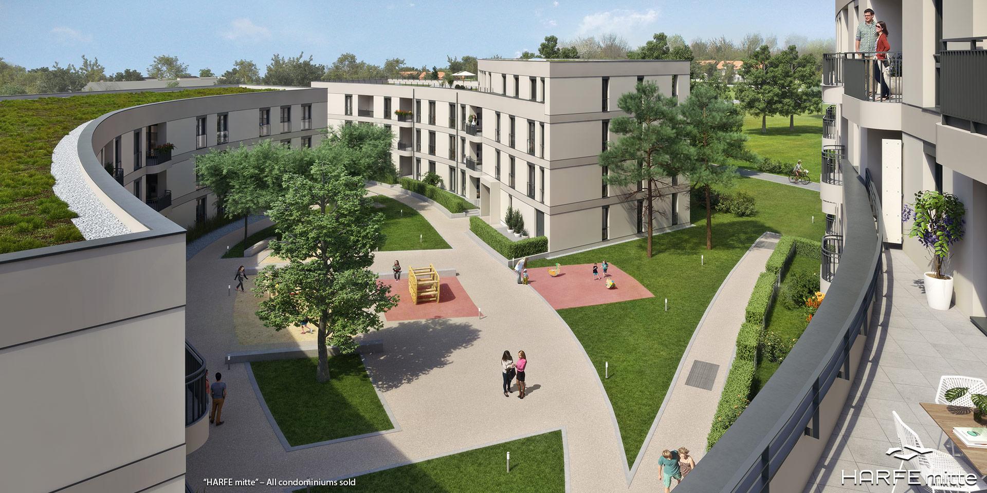 'HARFE mitte' in Munich-Neuaubing: All condominiums sold