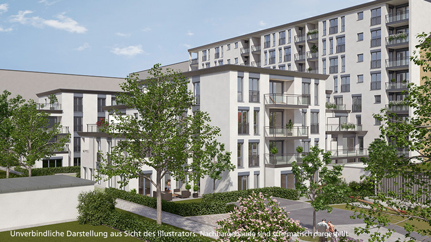 "Sales start for ""Luitpold Höfe"": your gateway to Schwabing"