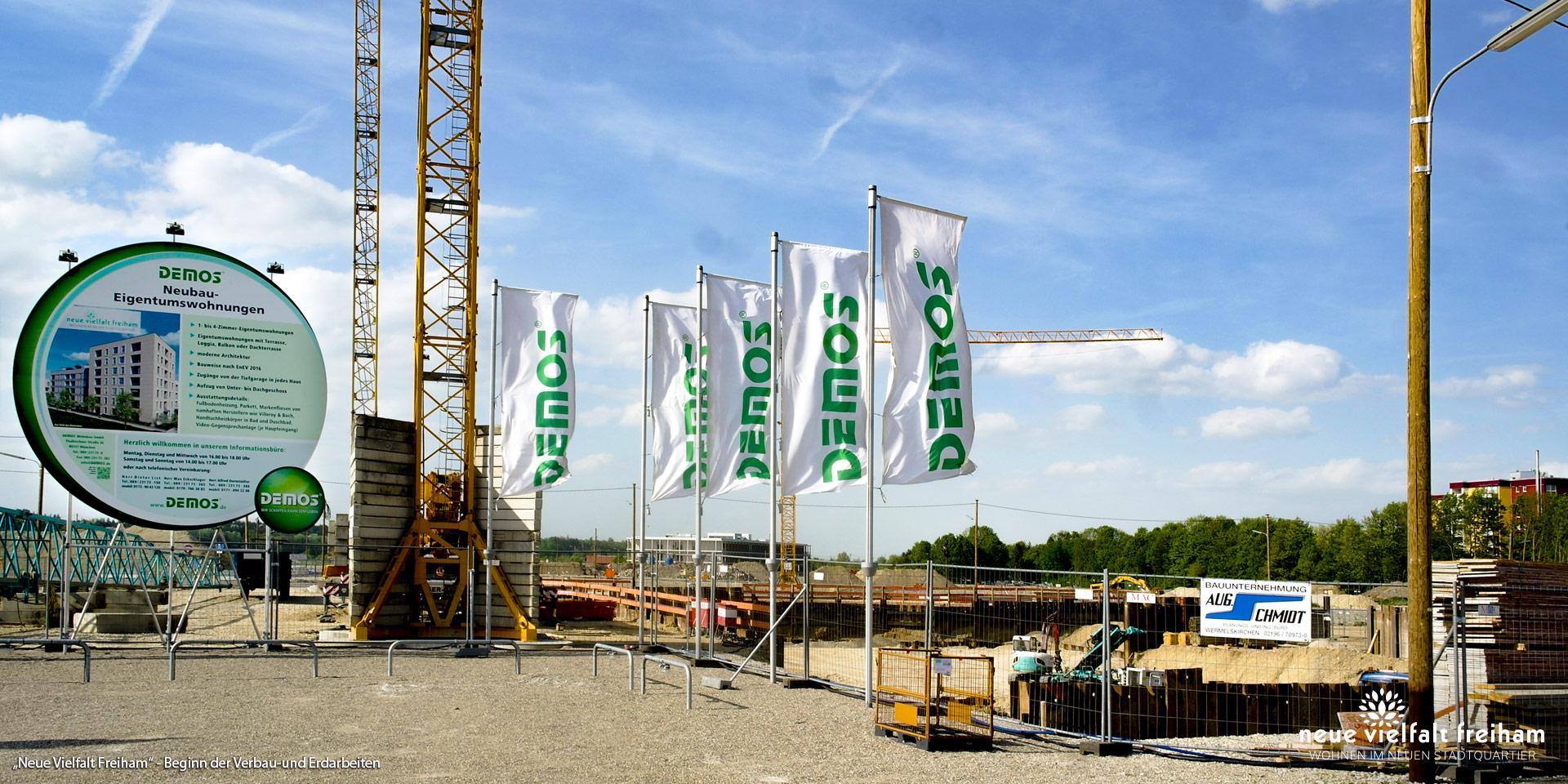 """""""Neue Vielfalt Freiham"""" in München-Freiham: Jetzt Beginn der Verbau- und Erdarbeiten"""