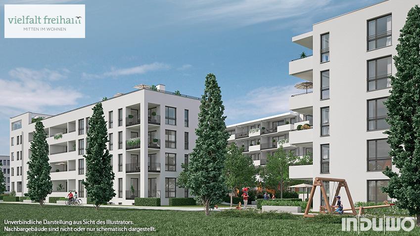 """""""vielfalt freiham"""": Verkaufsstart für modernes Wohnen im neuen Stadtteil!"""
