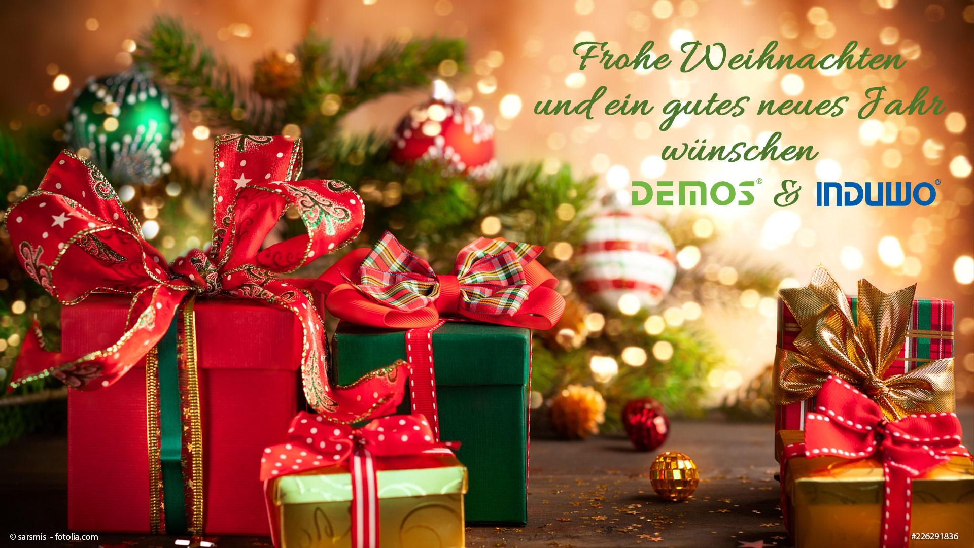Ein frohes Weihnachtsfest und ein gutes neues Jahr