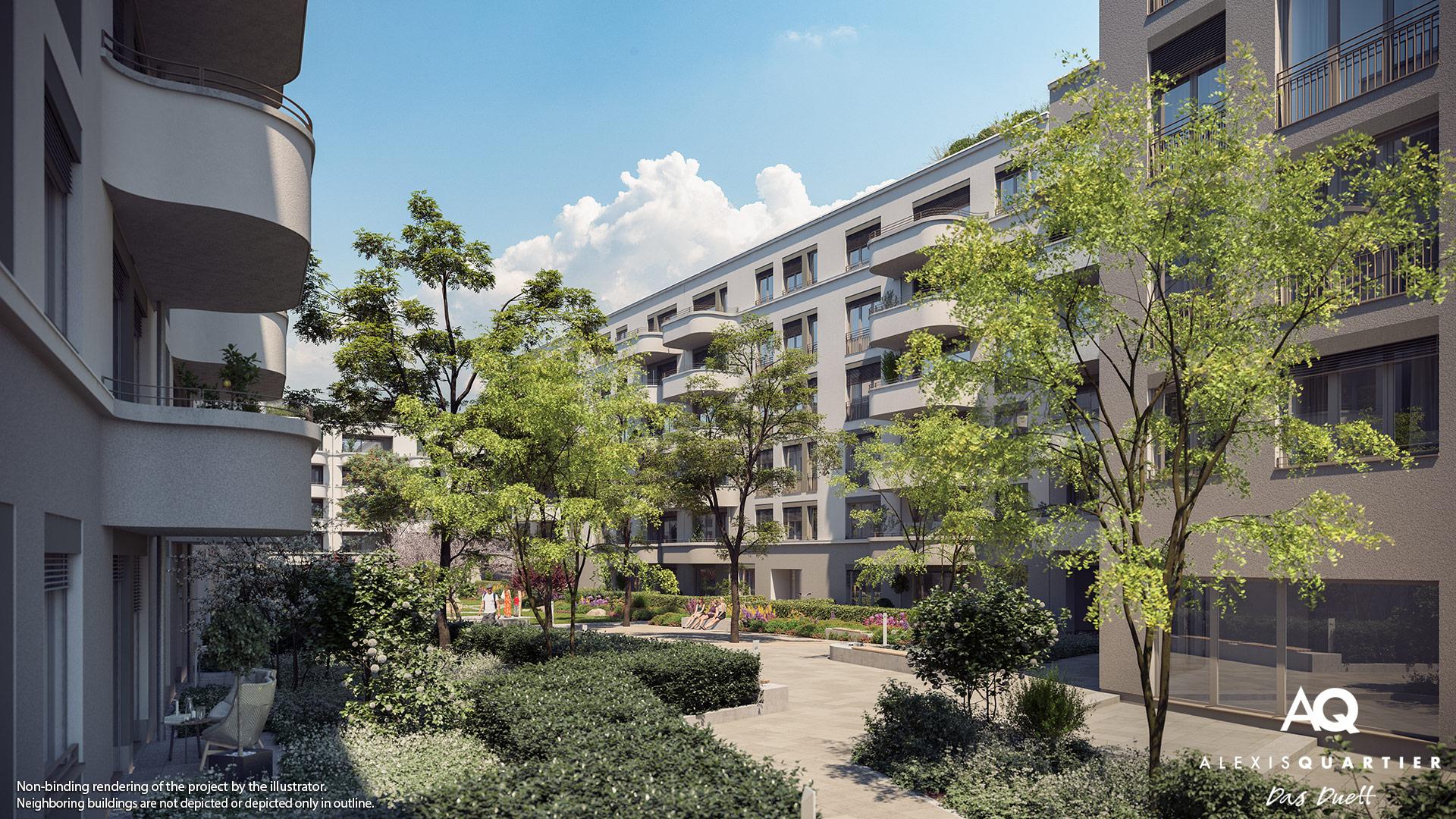 Condominiums Alexisquartier - Das Duett - Illustration 6