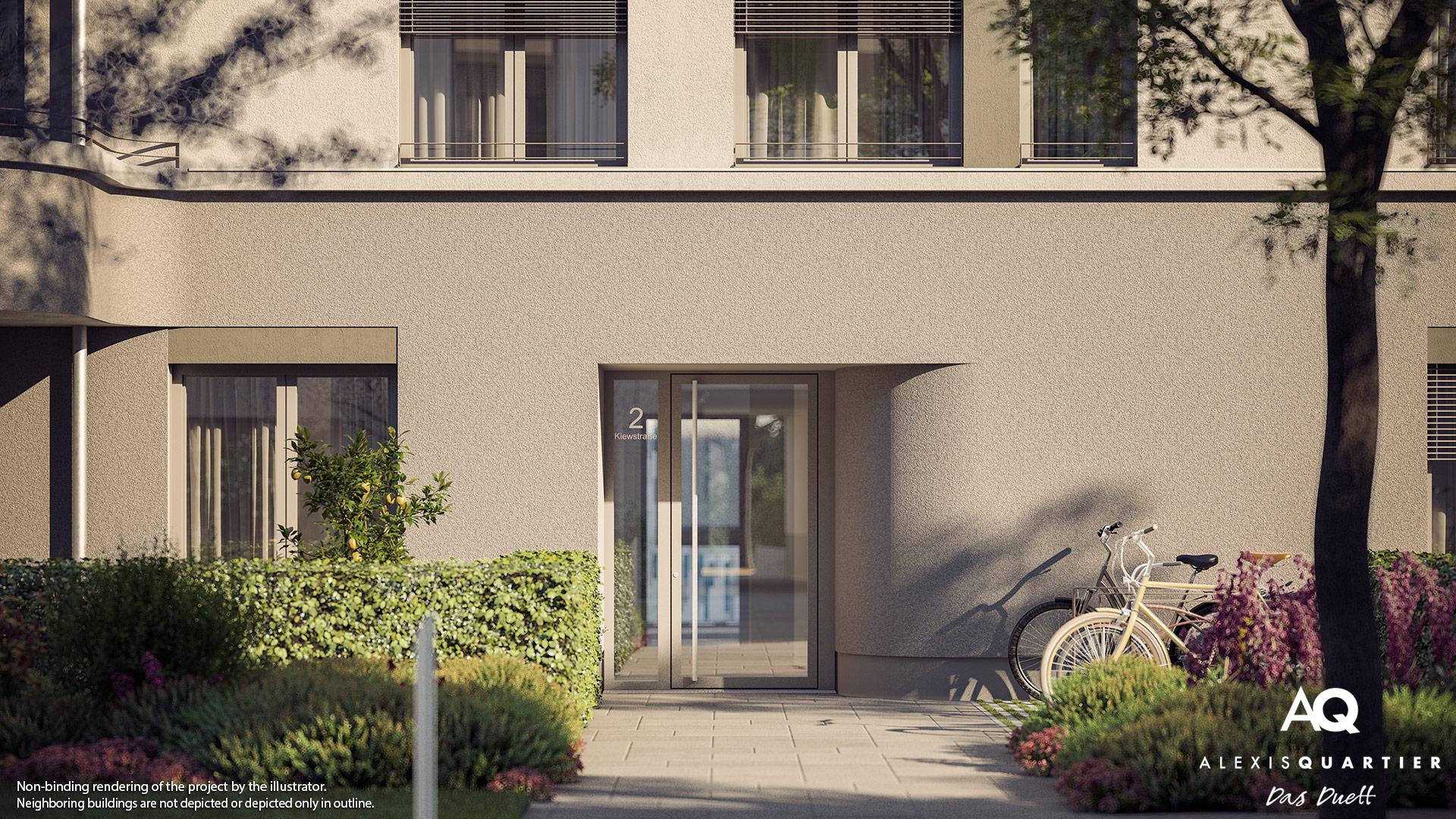 Condominiums Alexisquartier - Das Duett - Illustration 9