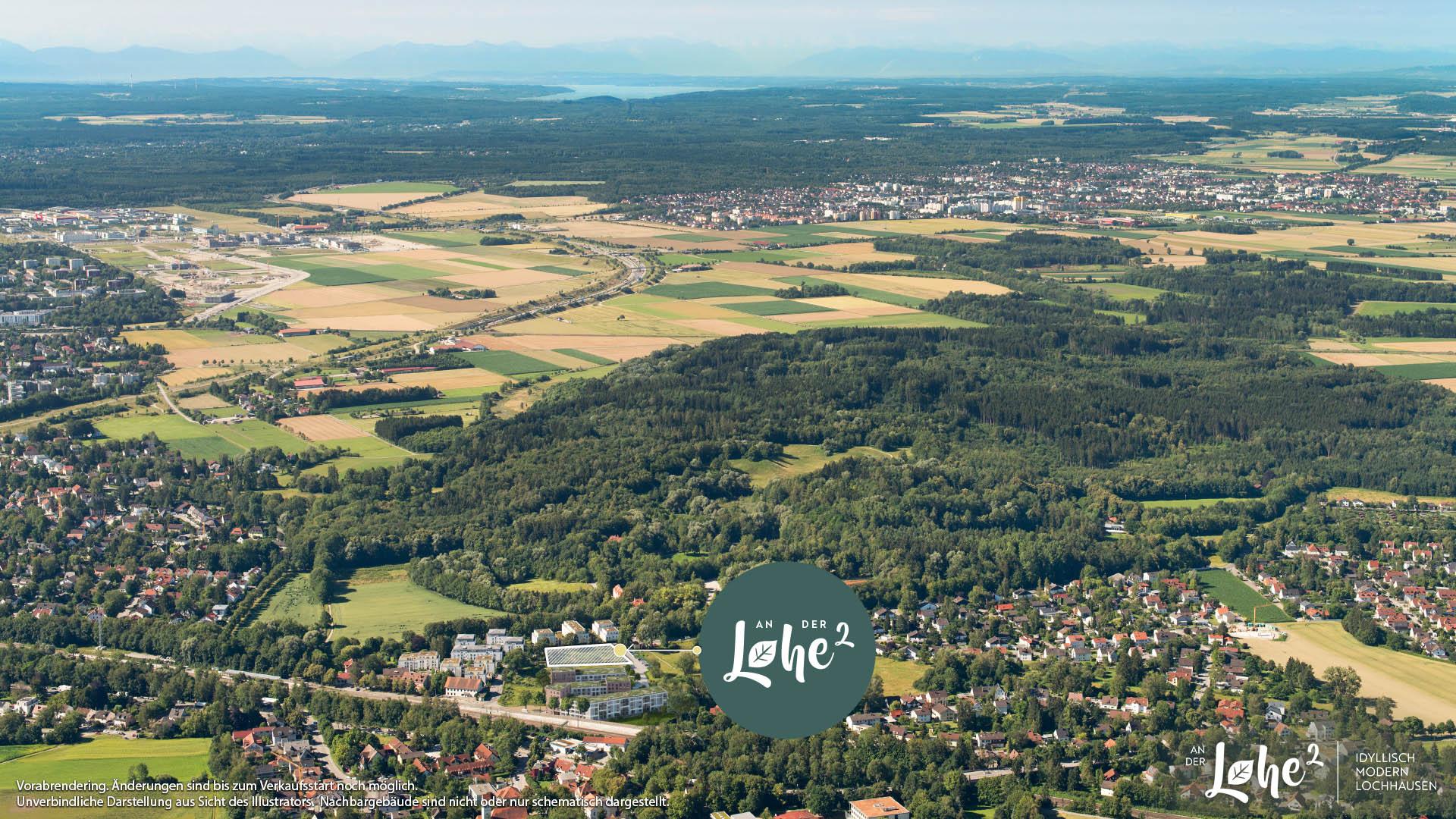 Immobilie An der Lohe 2 - Luftbild