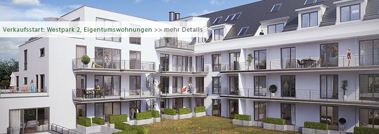 Neubau - Eigentumswohnungen in München - Westpark 2