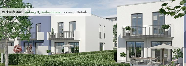 Neubau - Reihenhäuser in München - Aubing 3