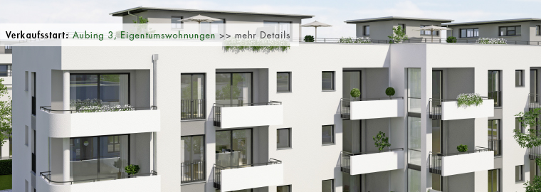 Neubau - Eigentumswohnungen in München - Aubing 3