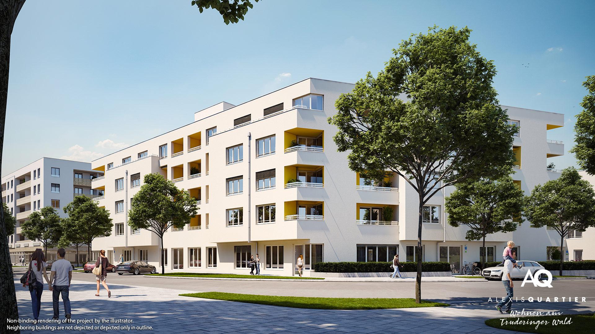 Property Alexisquartier Wohnen am Truderinger Wald - Illustration 1