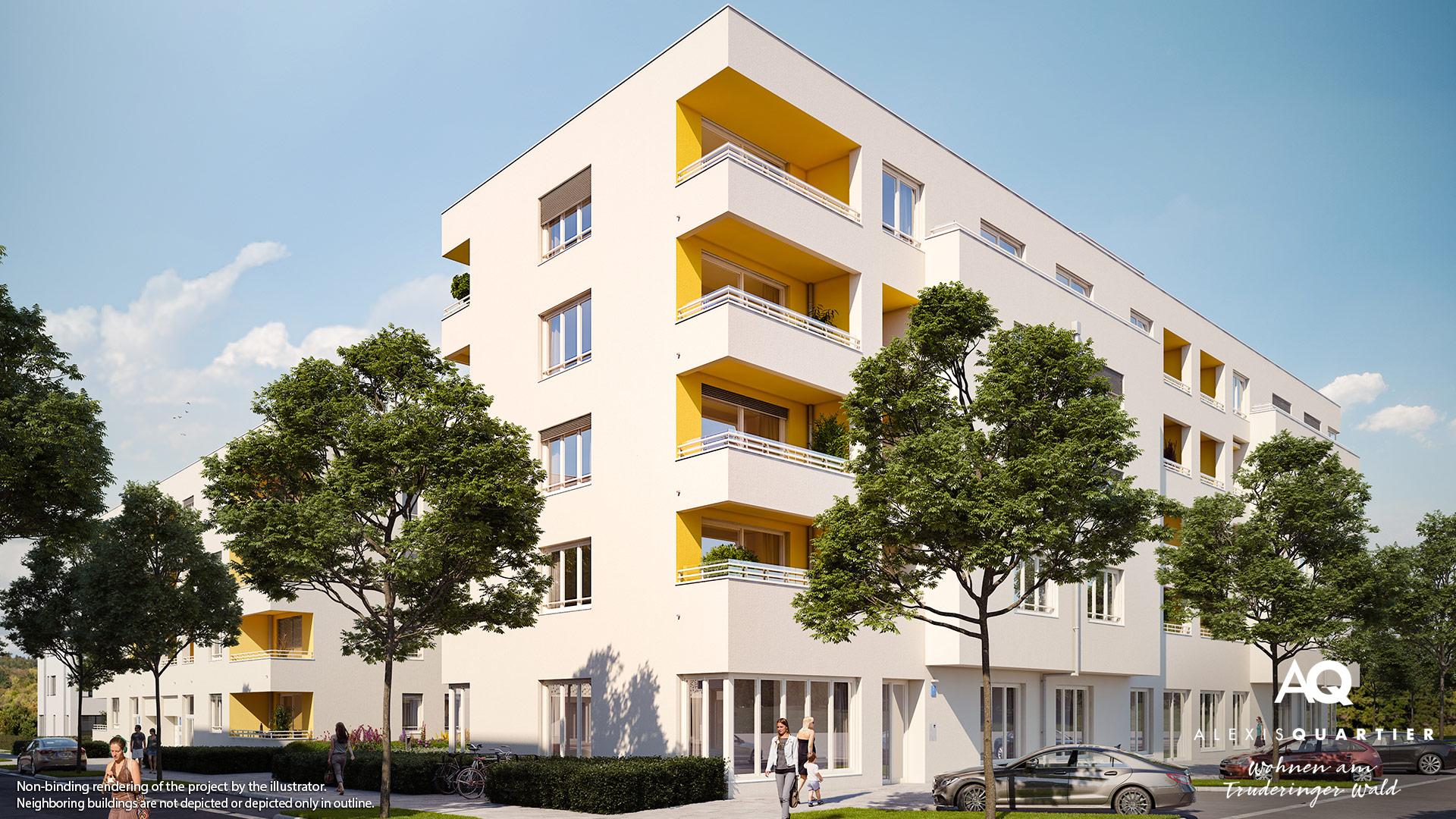 Property Alexisquartier Wohnen am Truderinger Wald - Illustration 2