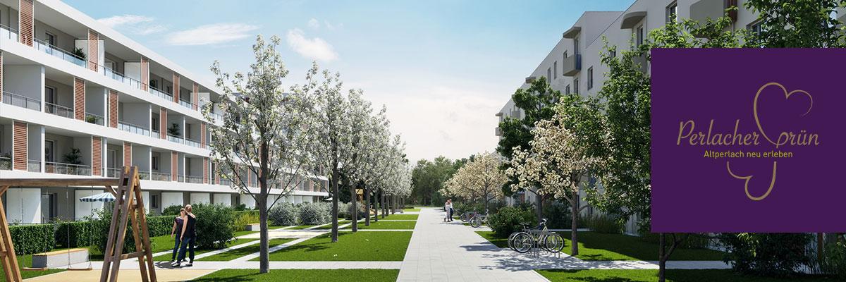Eigentumswohnungen München: Perlacher Grün
