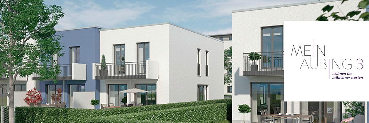 Eigentumswohnungen und Reihenhäuser München: Mein Aubing 3