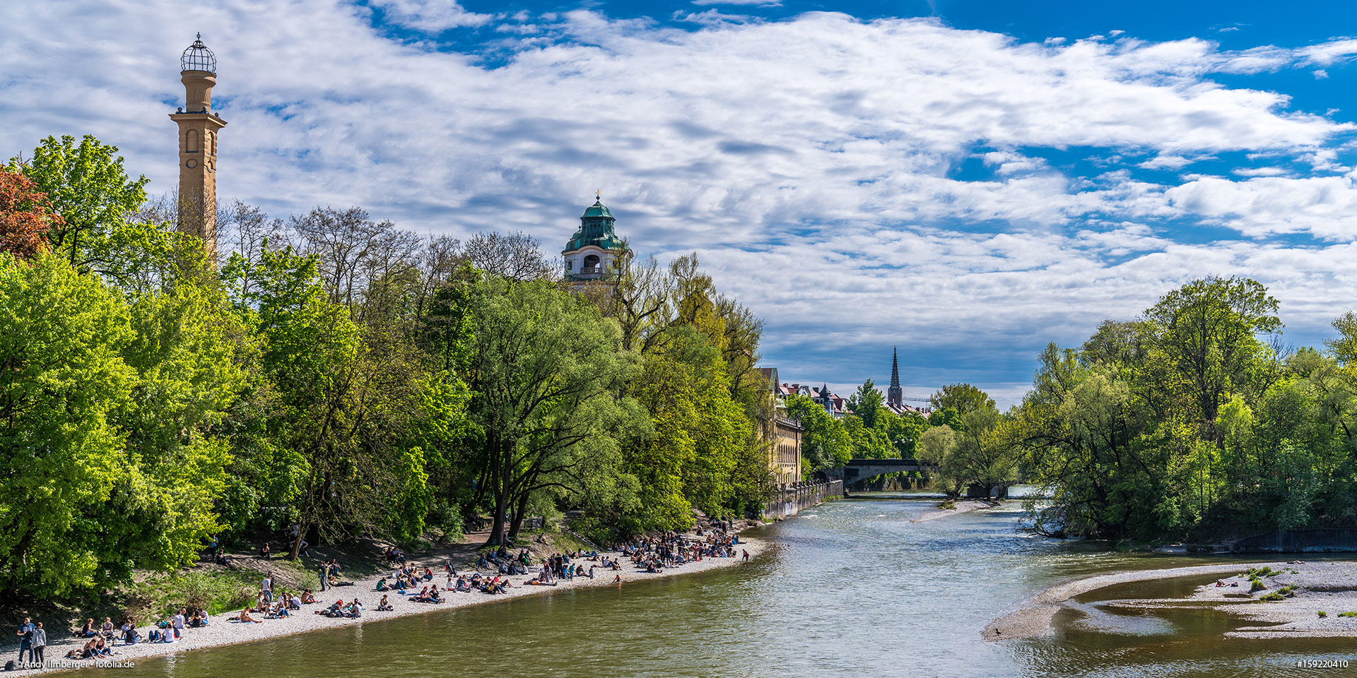 The prettiest swimming lakes in and around Munich